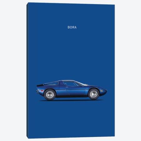 1973 Maserati Bora 3-Piece Canvas #RGN66} by Mark Rogan Art Print