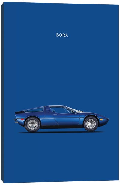 1973 Maserati Bora Canvas Art Print