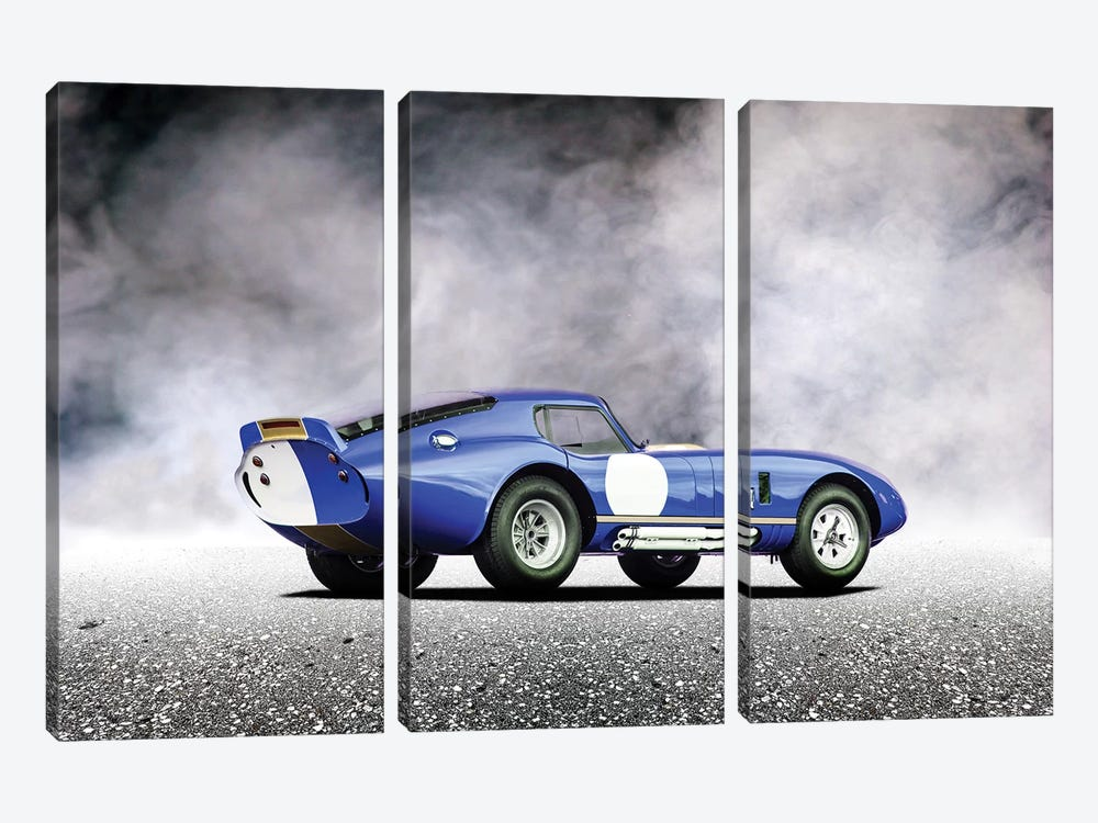 Shelby Daytona by Mark Rogan 3-piece Canvas Artwork