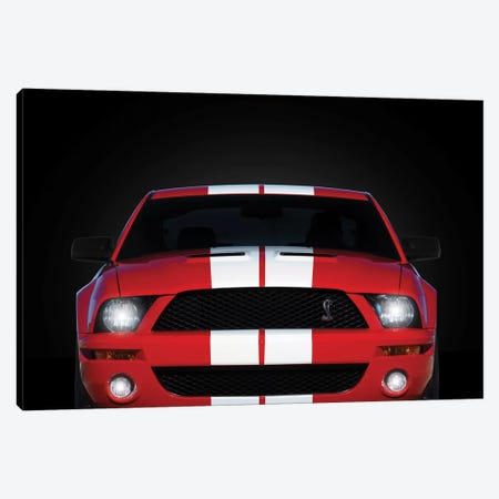 Shelby Mustang GT500 Canvas Print #RGN688} by Mark Rogan Canvas Wall Art