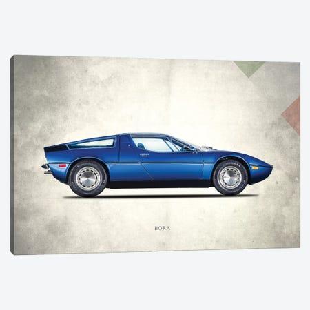 Maserati Bora 1973 Canvas Print #RGN706} by Mark Rogan Canvas Wall Art