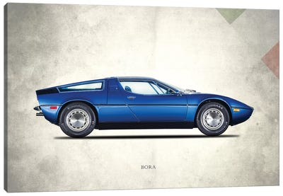 Maserati Bora 1973 Canvas Art Print