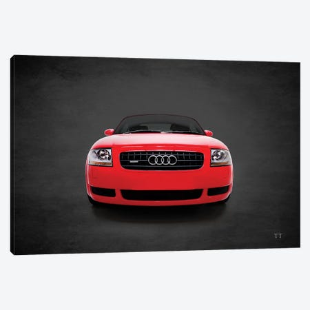 Audi TT Quattro Canvas Print #RGN707} by Mark Rogan Canvas Artwork