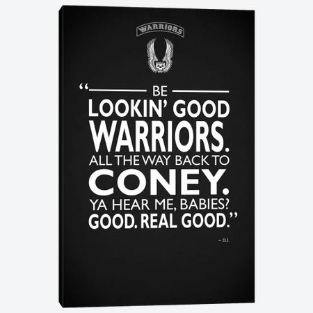 Warriors Lookin Good Canvas Print #RGN722} by Mark Rogan Canvas Print