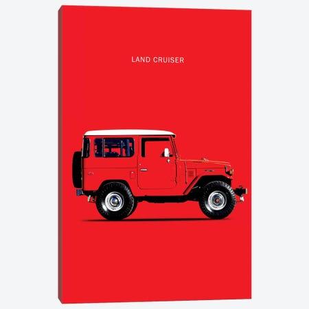 1977 Toyota Land Cruiser FJ40 Canvas Print #RGN72} by Mark Rogan Art Print