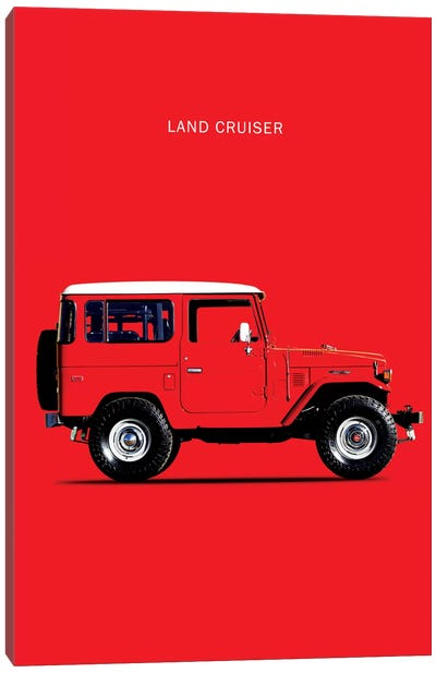 1977 Toyota Land Cruiser FJ40 Canvas Art Print