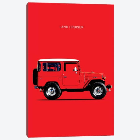 1977 Toyota Land Cruiser FJ40 Canvas Print #RGN72} by Mark Rogan Art Print