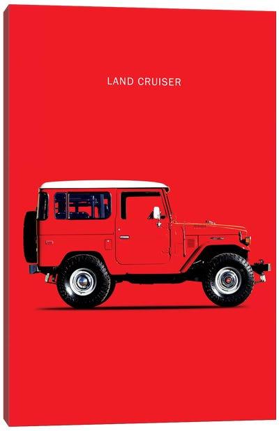 1977 Toyota Land Cruiser FJ40 Canvas Art Print