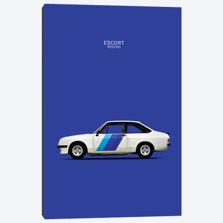 1978 Ford Escort RS2000 Canvas Print #RGN73} by Mark Rogan Canvas Art Print