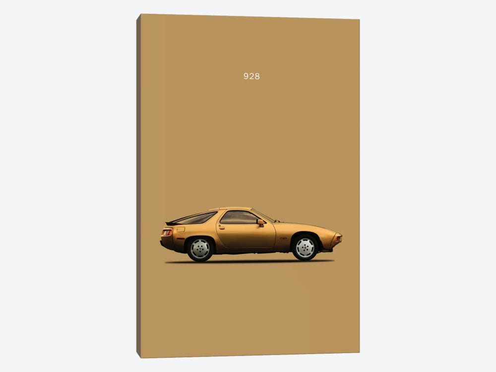 1979 Porsche 928 by Mark Rogan 1-piece Canvas Art