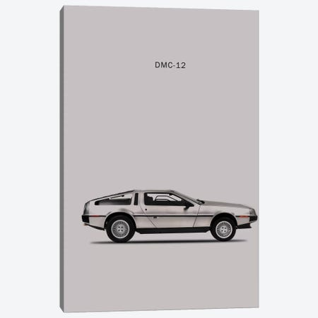 1981 DeLorean DMC-12 Canvas Print #RGN76} by Mark Rogan Canvas Wall Art