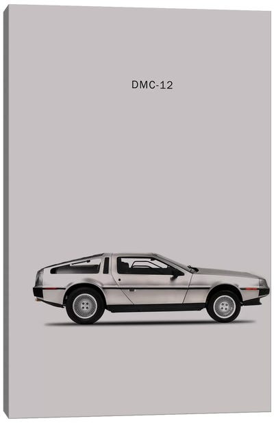 1981 DeLorean DMC-12 Canvas Art Print