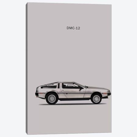 1981 DeLorean DMC-12 Canvas Print #RGN76} by Mark Rogan Canvas Wall Art