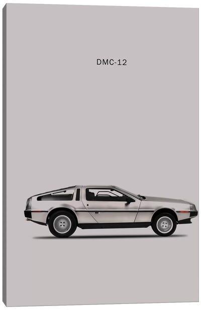 1981 DeLorean DMC-12 Canvas Art Print