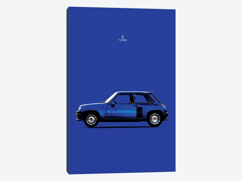1983 Renault 5 Turbo by Mark Rogan 1-piece Canvas Art