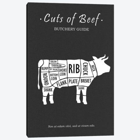 Butchery Beef Canvas Print #RGN780} by Mark Rogan Art Print