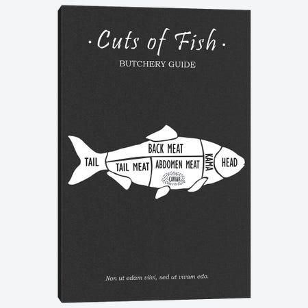 Butchery Fish Canvas Print #RGN783} by Mark Rogan Canvas Art Print