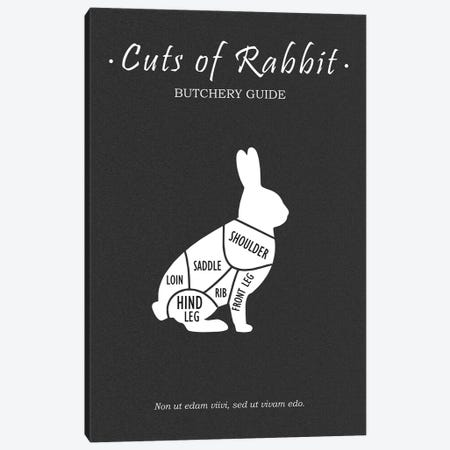 Butchery Rabit Canvas Print #RGN789} by Mark Rogan Canvas Art Print