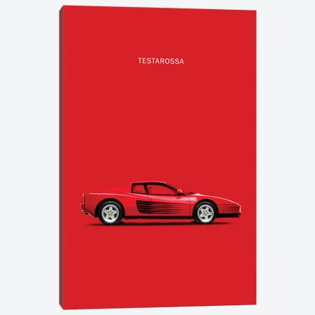 1984 Ferrari Testarossa Canvas Print #RGN78} by Mark Rogan Art Print