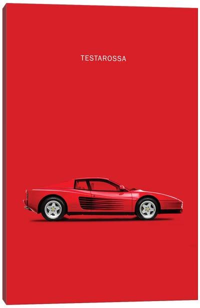 1984 Ferrari Testarossa Canvas Art Print