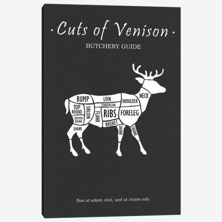 Butchery Venison Canvas Print #RGN791} by Mark Rogan Canvas Art