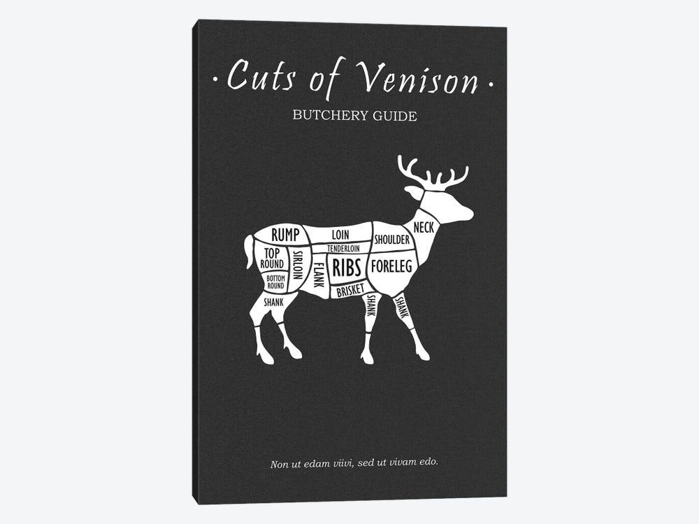 Butchery Venison by Mark Rogan 1-piece Canvas Artwork