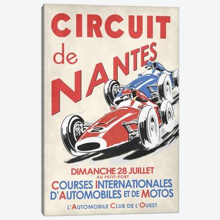 Circuit De Nantes 1946 Canvas Print #RGN793} by Mark Rogan Canvas Art