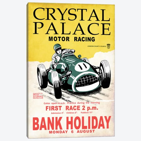 Crystal Palace Racing II Canvas Print #RGN797} by Mark Rogan Canvas Print