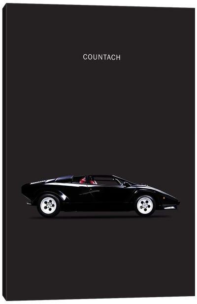 1984 Lamborghini Countach Canvas Print #RGN79