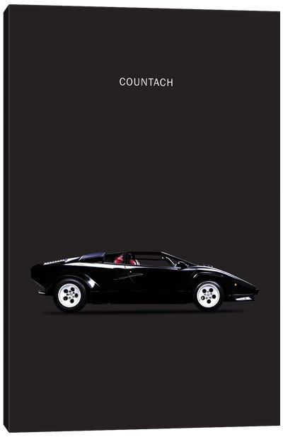 1984 Lamborghini Countach Canvas Art Print