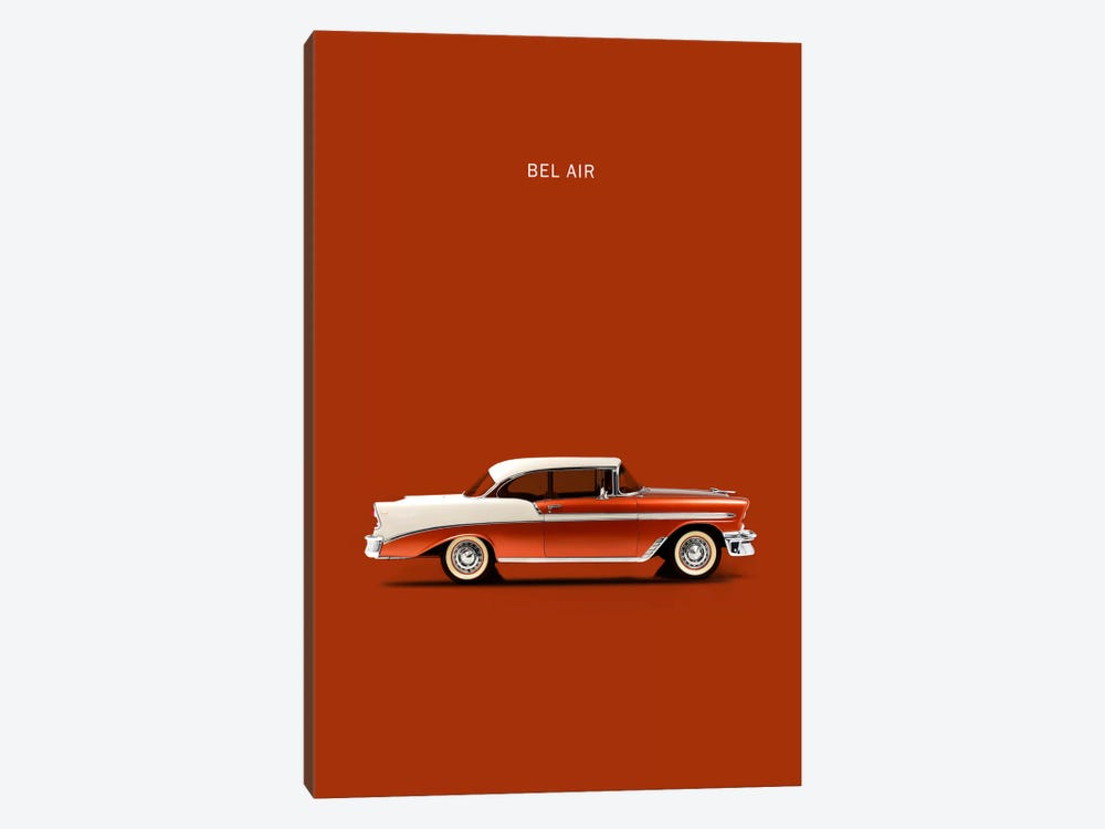 1956 Chevrolet Bel Air 1-piece Art Print