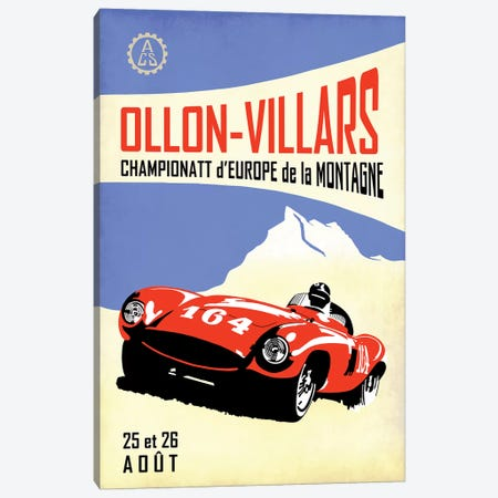 Ollon-Villars Canvas Print #RGN811} by Mark Rogan Canvas Print