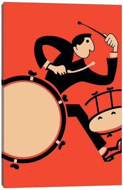 The Drummer Canvas Art Print