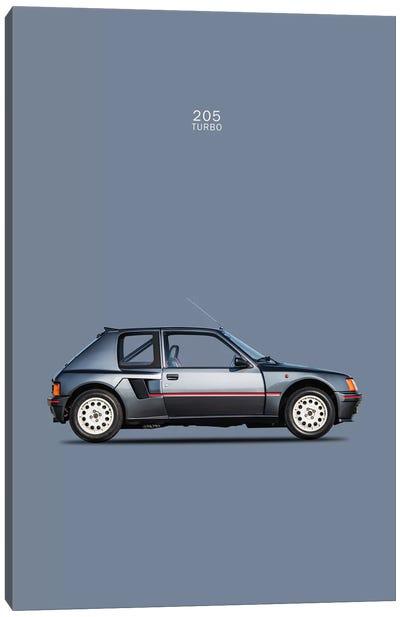1984 Peugeot 205 Turbo Canvas Print #RGN81