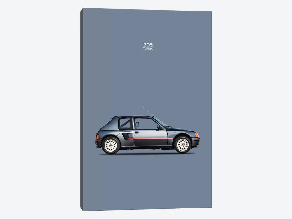1984 Peugeot 205 Turbo by Mark Rogan 1-piece Canvas Print