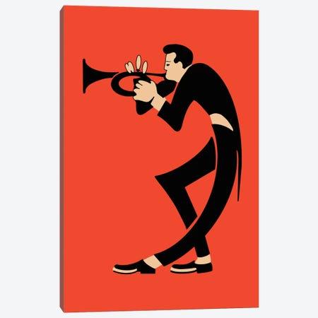 The Trumpet Canvas Print #RGN827} by Mark Rogan Canvas Art Print