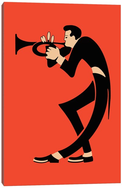 The Trumpet Canvas Art Print