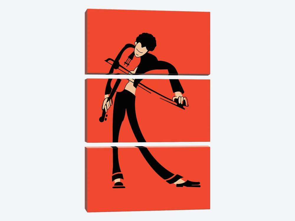 The Violin by Mark Rogan 3-piece Art Print