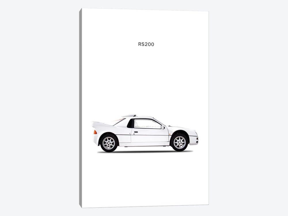 1987 Ford RS200 by Mark Rogan 1-piece Canvas Wall Art