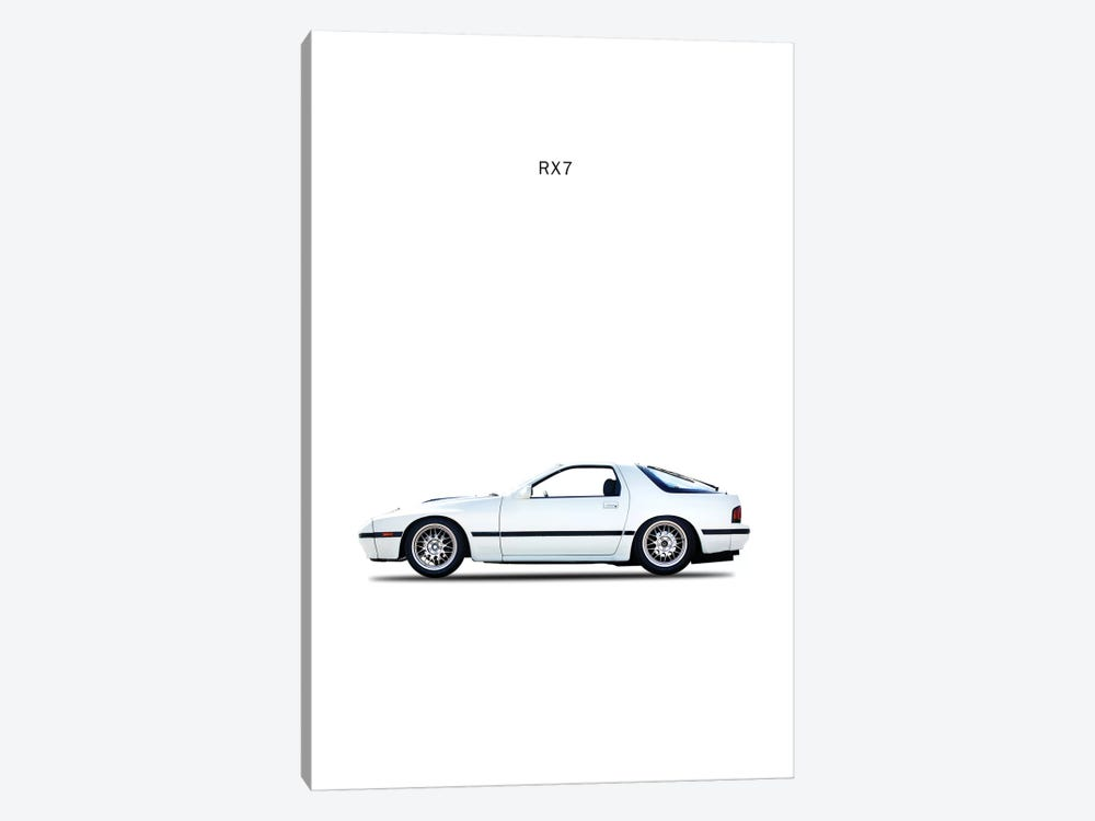 1988 Mazda RX7 by Mark Rogan 1-piece Art Print