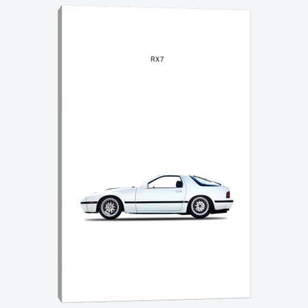 1988 Mazda RX7 Canvas Print #RGN83} by Mark Rogan Canvas Artwork