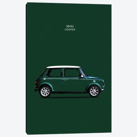 1999 Mini Cooper Canvas Print #RGN84} by Mark Rogan Canvas Art Print