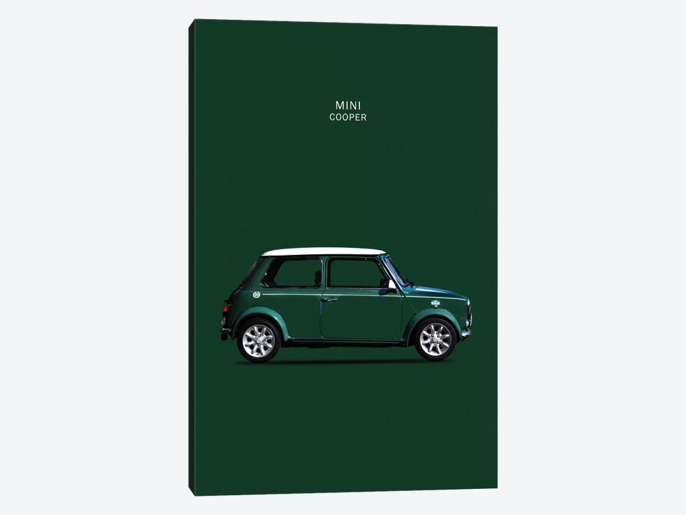 1999 Mini Cooper by Mark Rogan 1-piece Canvas Wall Art