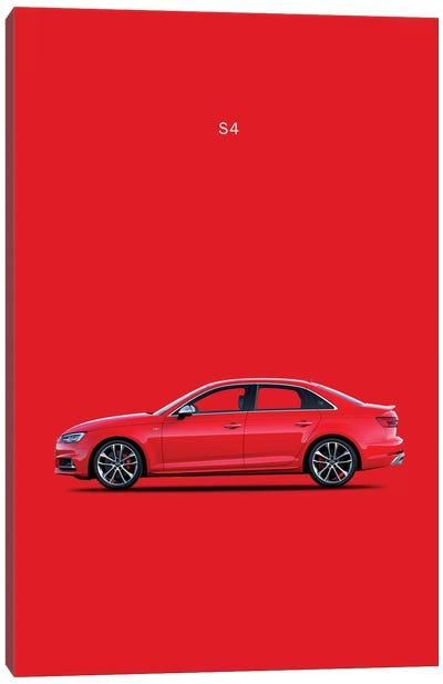 2015 Audi S4 Canvas Print #RGN86