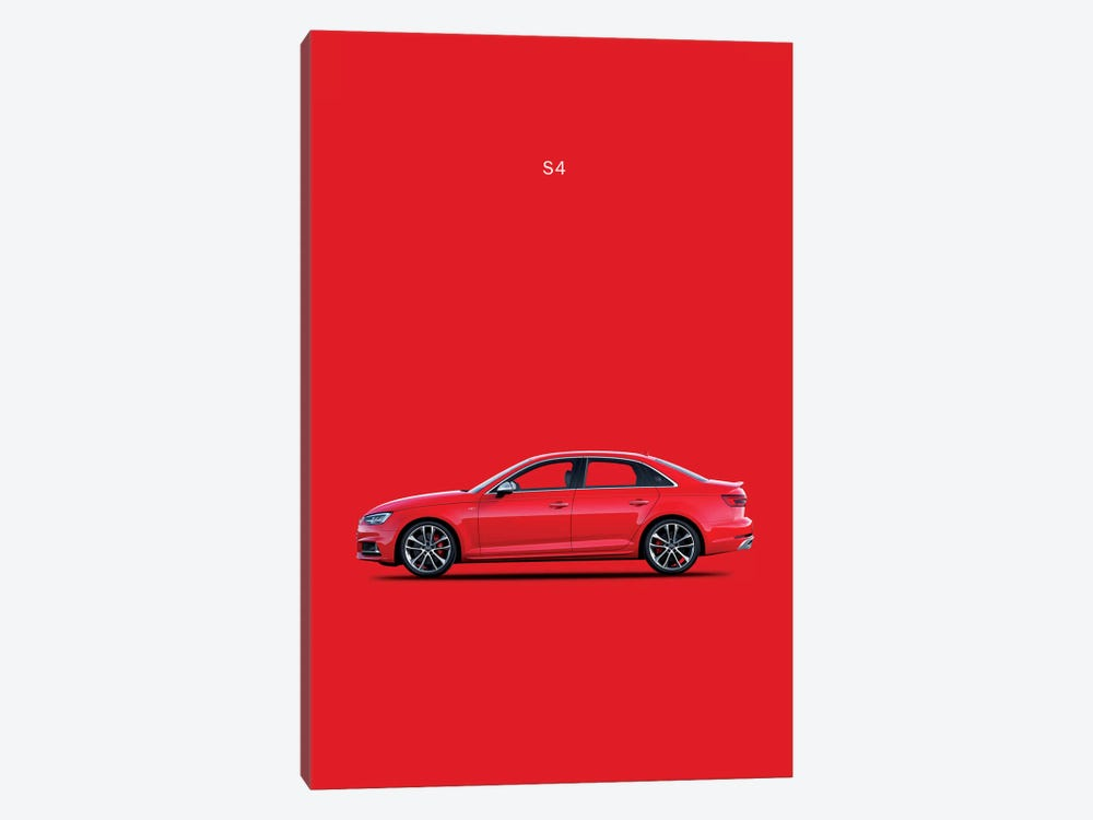 2015 Audi S4 by Mark Rogan 1-piece Canvas Artwork