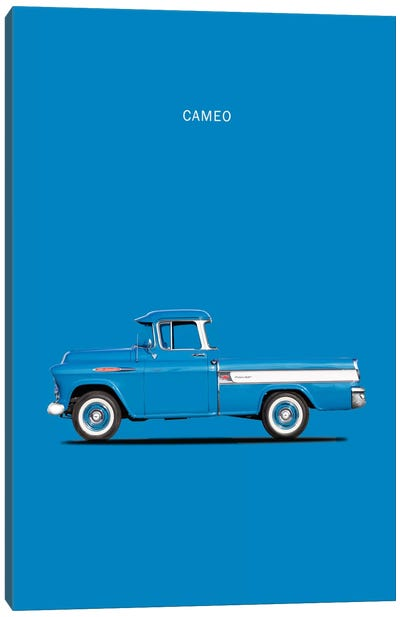 1957 Chevrolet Cameo Canvas Art Print