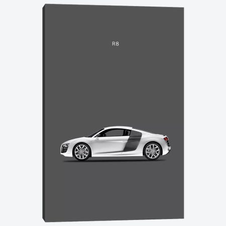 Audi R8 Canvas Print #RGN94} by Mark Rogan Canvas Wall Art