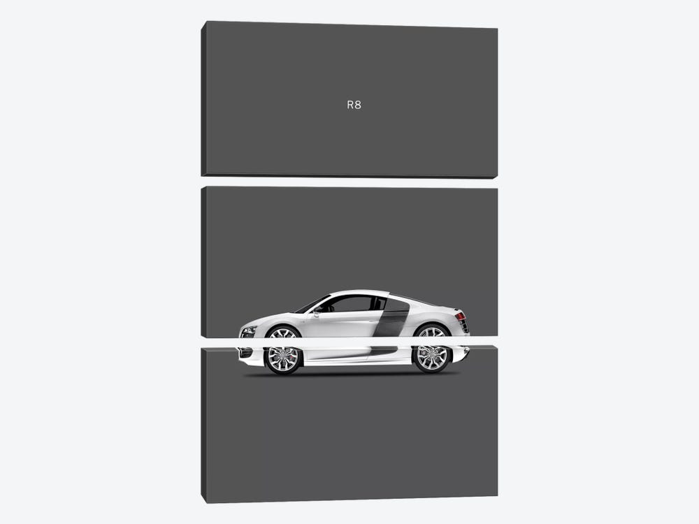 Audi R8 by Mark Rogan 3-piece Canvas Print
