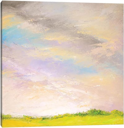 Dew Soaked Spring Morning Canvas Art Print