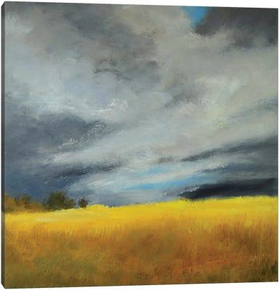 Gold Autumn Freckles Canvas Art Print